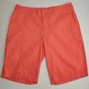 Columbia Bermuda Shorts Orange Size 8